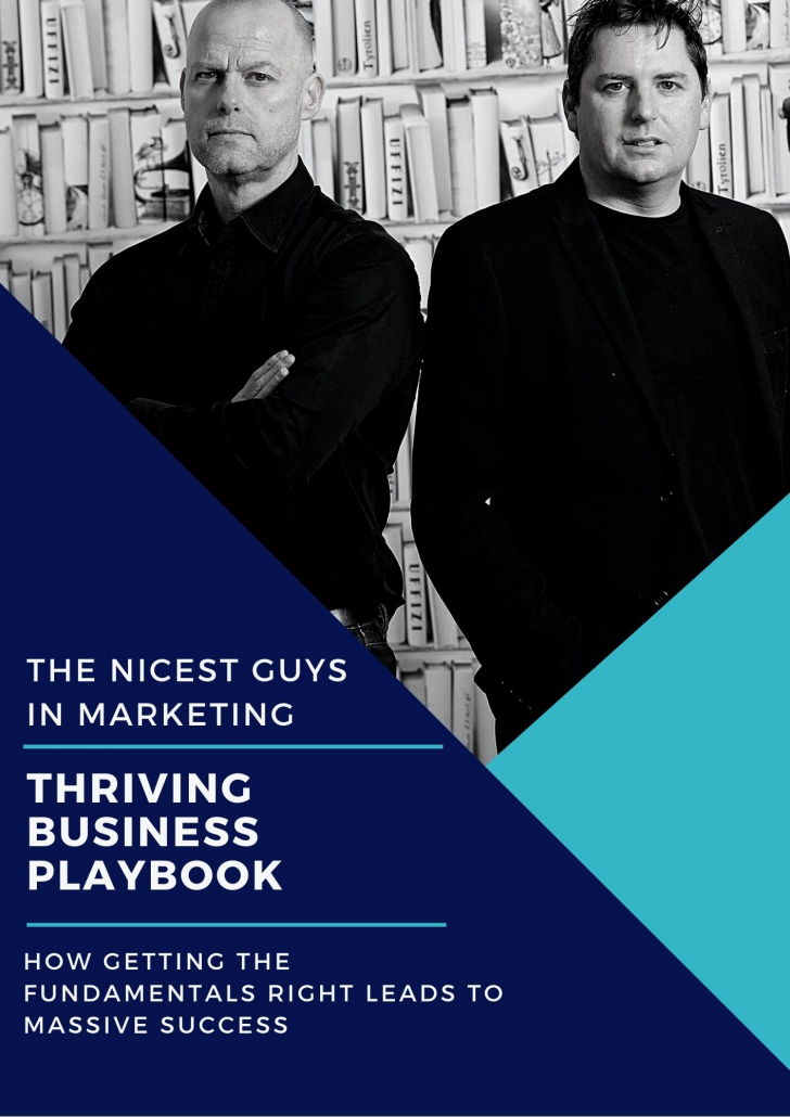 Thriving Business Playbook Cover